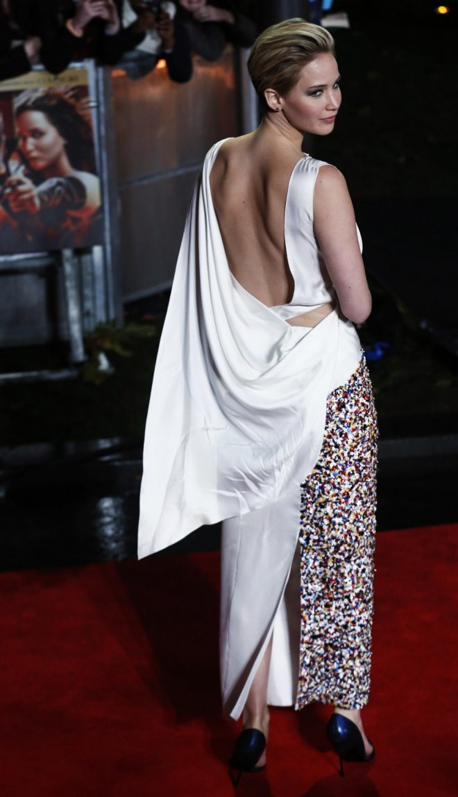 Jennifer Lawrence: 'The Hunger Games: Catching Fire' Actress' Top 3 Looks at the Movie's Premiere [PHOTOS]