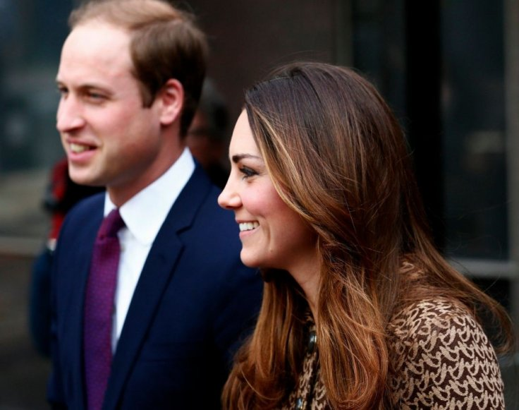This was William and Kate's third engagement together since christening of prince George. (Photo: Reuters)