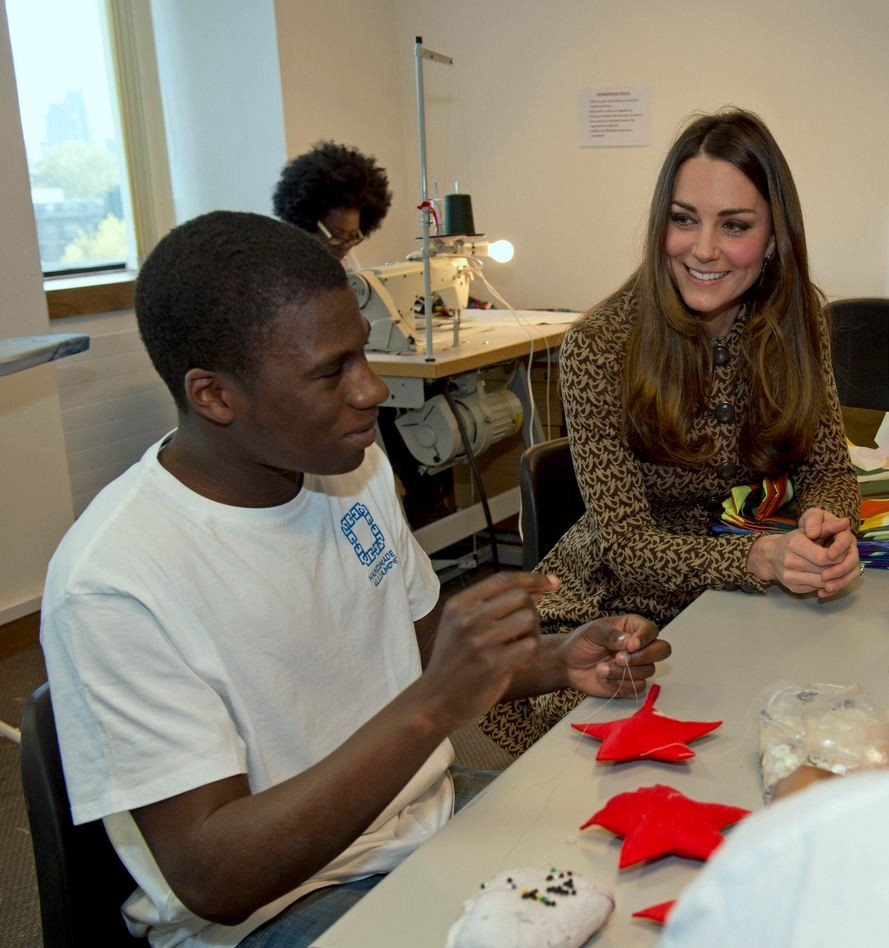 Kate Middleton was all smiles during the event. (Photo: Reuters)