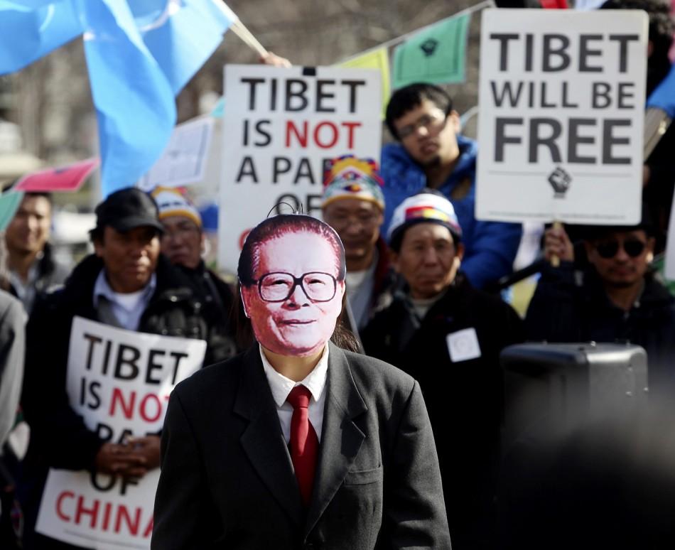 China Tibet Spain arrest Zemin