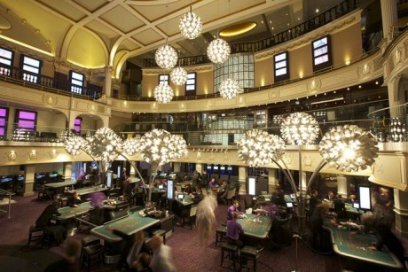 The Hippodrome is the UK's biggest casino, attracting around 35,000 people