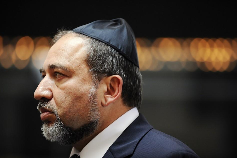 Avigdor Liberman israel iran