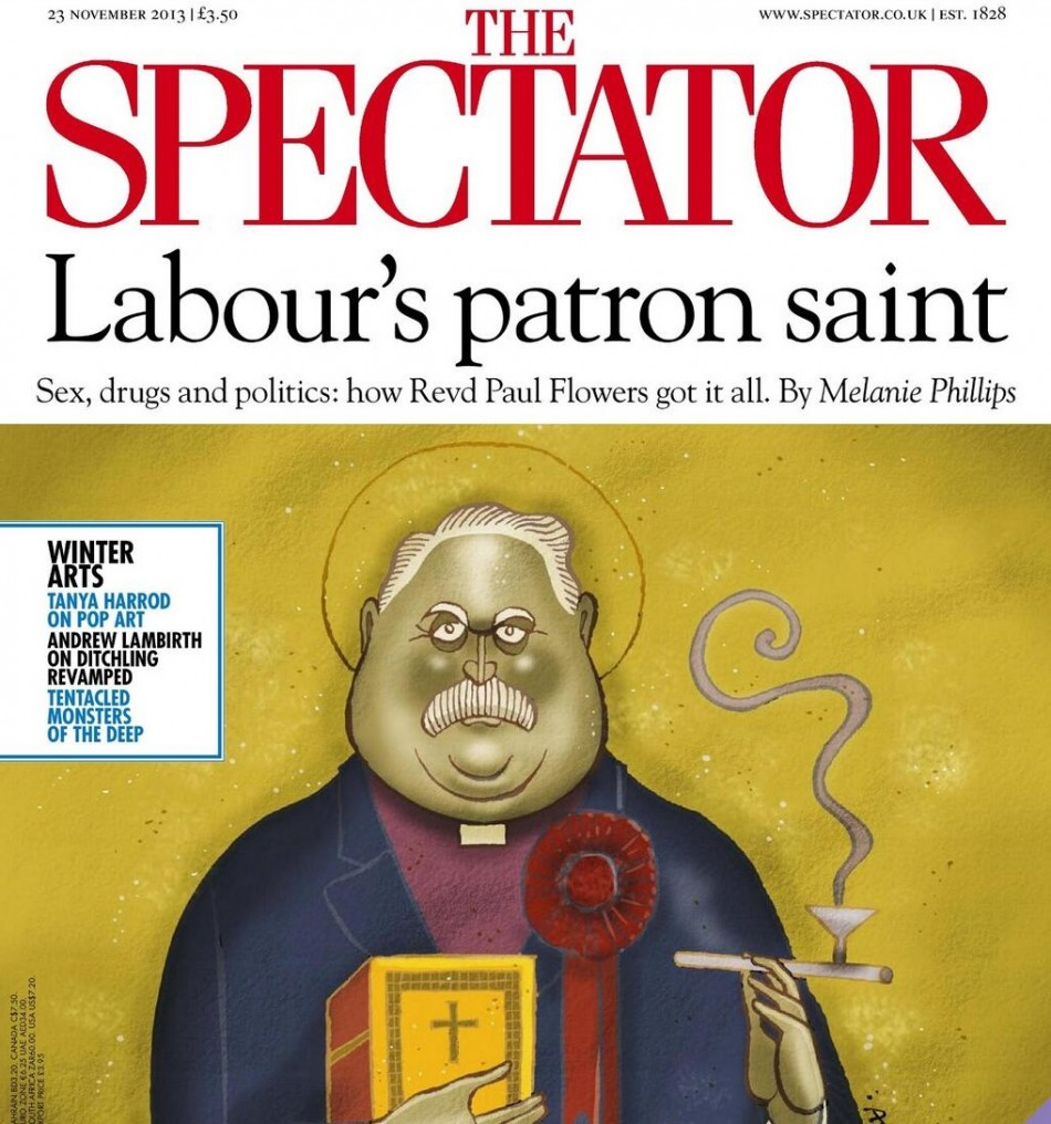 The Spectator links Paul Flowers scandal to Labour