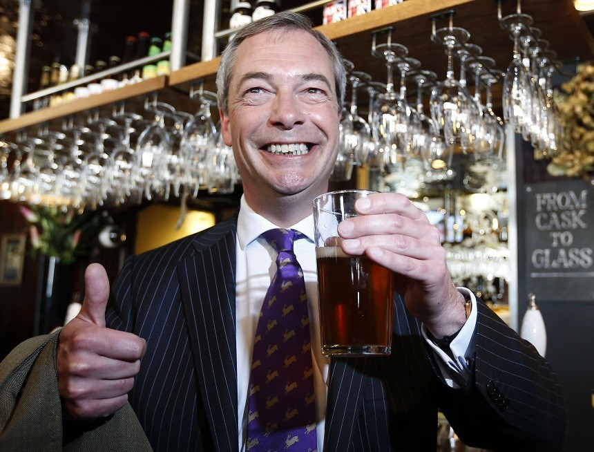 Bookies backing UKIP in 2014 EU election