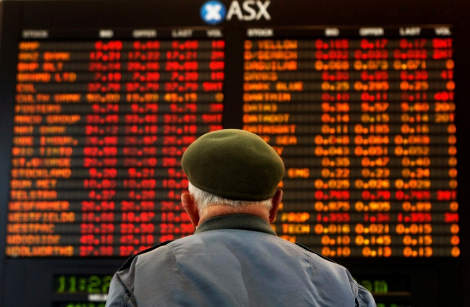 Asian markets outside mainland China drop on oil fears.