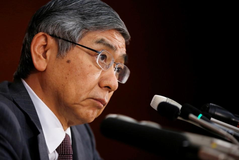 Bank of Japan (BOJ) Governor Haruhiko Kuroda