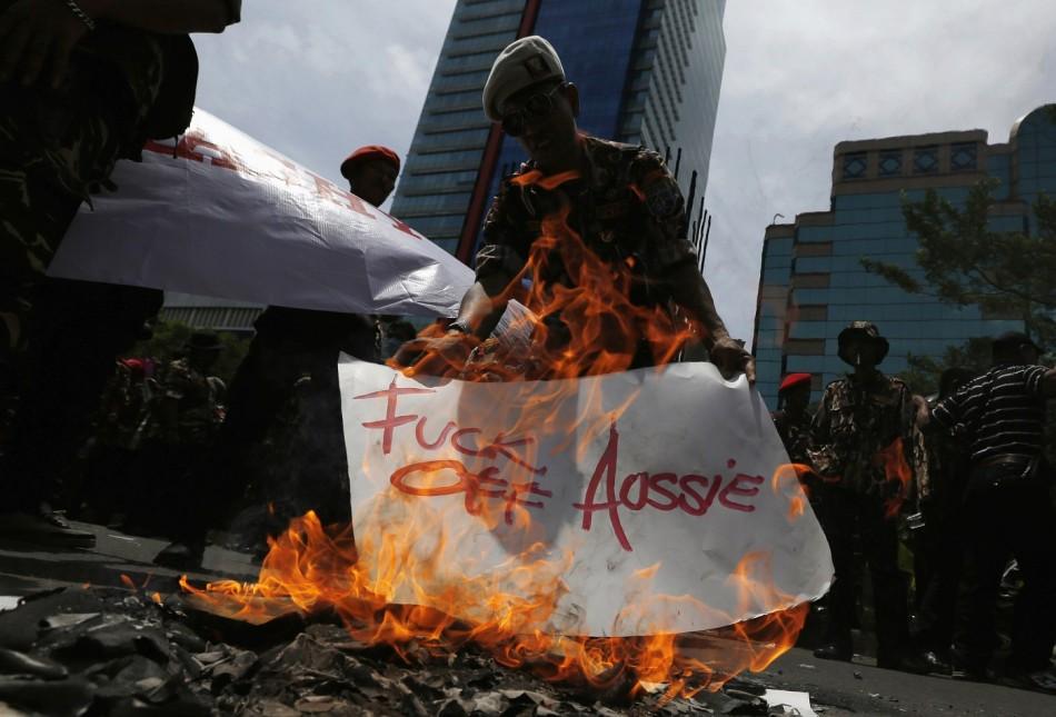 Indonesia Australia protest