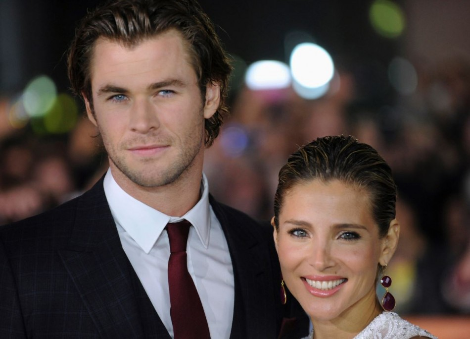 Australian actor Chris Hemsworth and his wife, Spanish model/actress Elsa Pataky are expecting their second child. (Reuters)