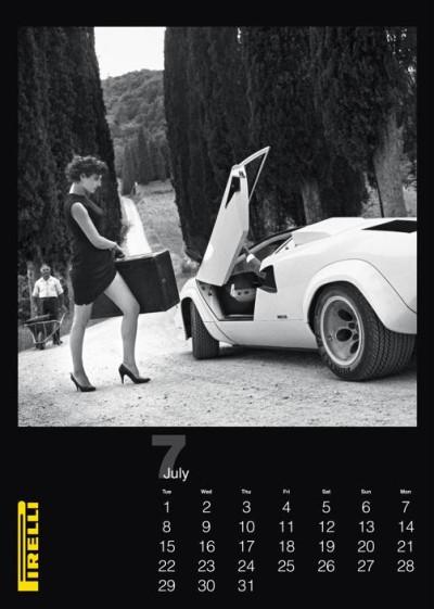Pirelli calendar 2014