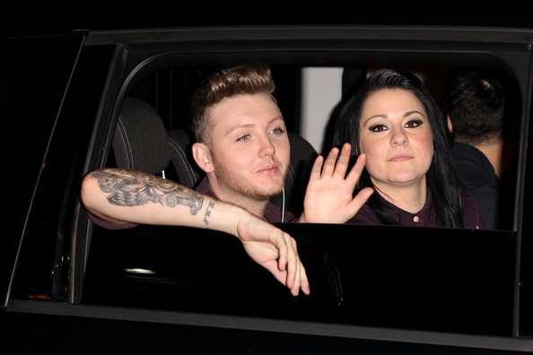 James Arthur and Lucy Spraggan