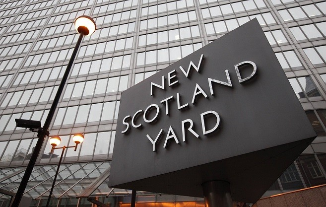 Officers from the Met's Human Trafficking Unit arrested two people  at their home in Lambeth (Reuters)