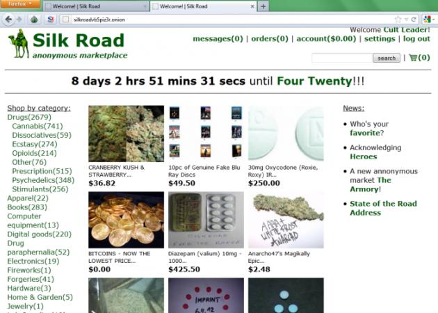 Silk Road website
