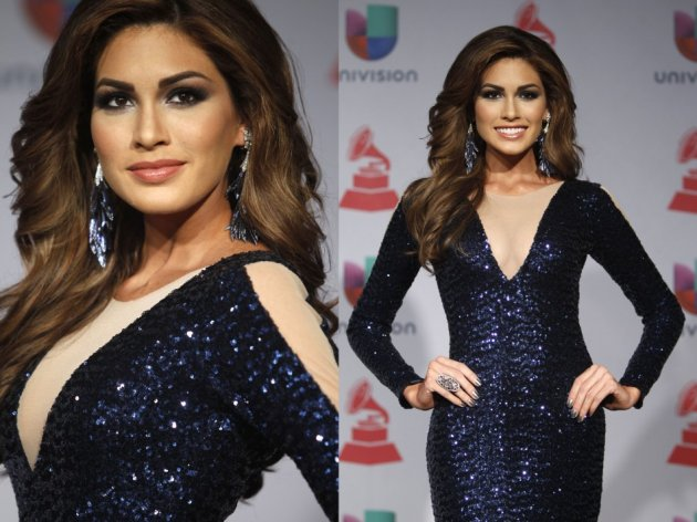 Gabriela sported a bronzed look at the award gala. (Photo: REUTERS/Steve Marcus)