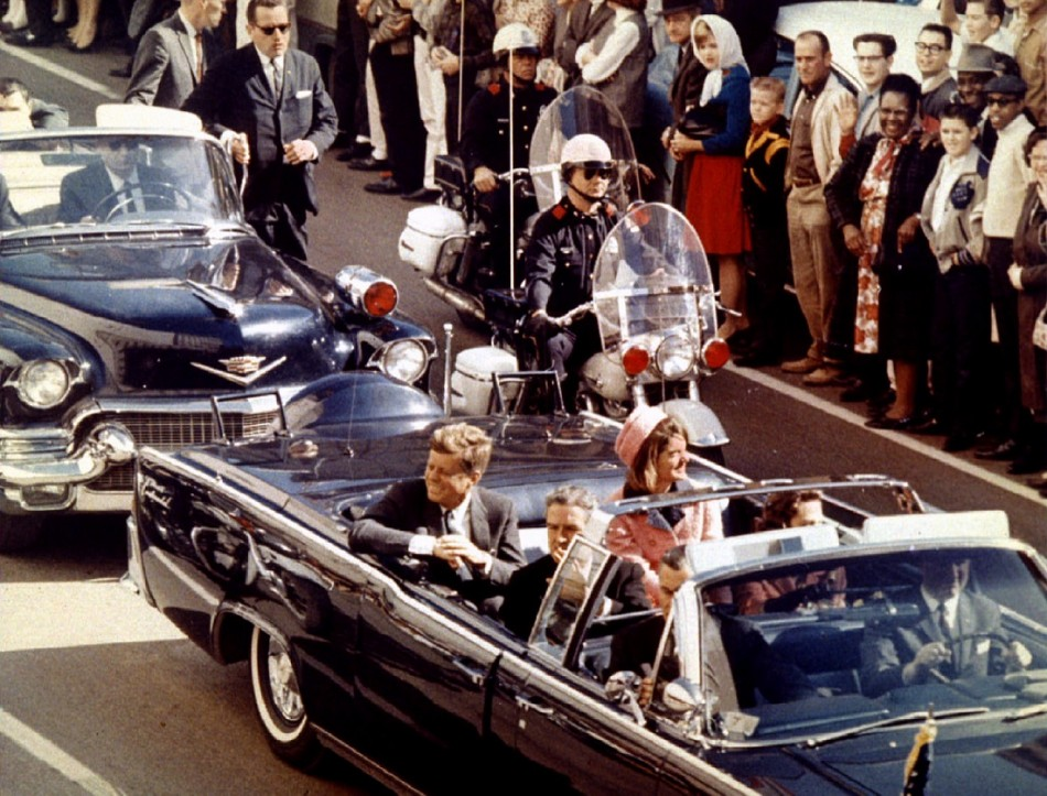 JFK historic images as US marks anniversary
