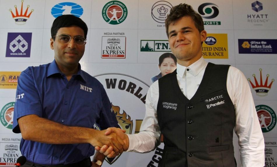 Viswanathan Anand-Magnus Carlsen