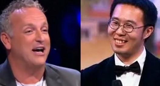 Holland's Got Talent Racist Heuckeroth Xiao