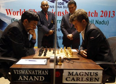 Magnus Carlsen-Viswanathan Anand