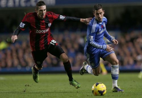 Amalfitano Hazard West Brom Chelsea