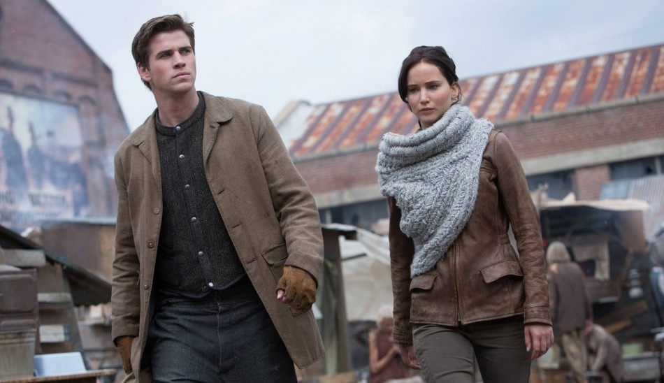 Liam Hemsworth enjoys his co-star Jennifer Lawrence's company