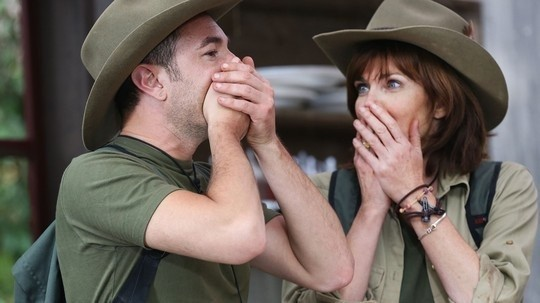 I'm a Celebrity stars Vincent Simone and Annabel Giles
