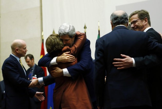Iran and world power strike nuclear deal in Geneva
