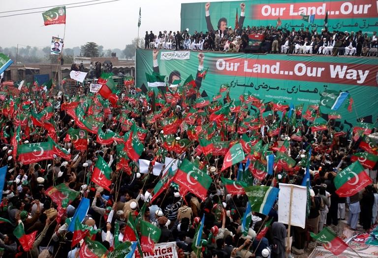 Drone protest: Peshawar