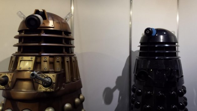 Doctor Who Daleks for the Doctor Who 50th Anniversary Celebration in London (Photo: Donald Sinclair)