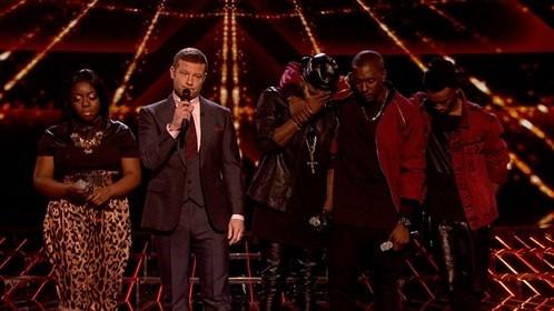 The X Factor's Hannah Barrett and Rough Copy