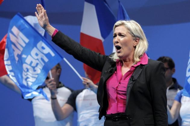 Marine Le Pen FN Nazi