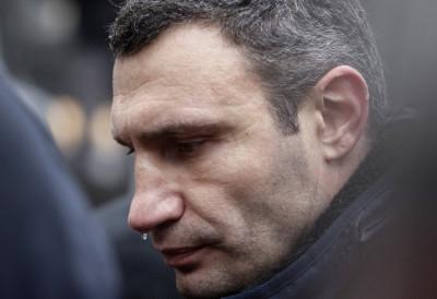 Vitali Klitschko Ukraine EU protest