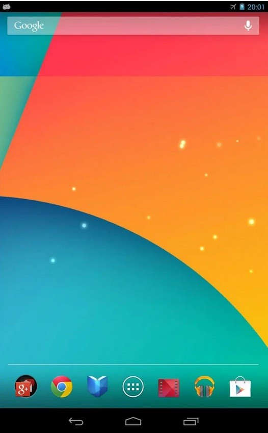 Android 4.4 live wallpaper