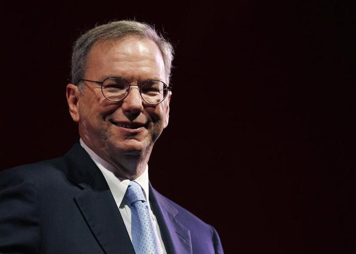 Google co-founder Eric Schmidt
