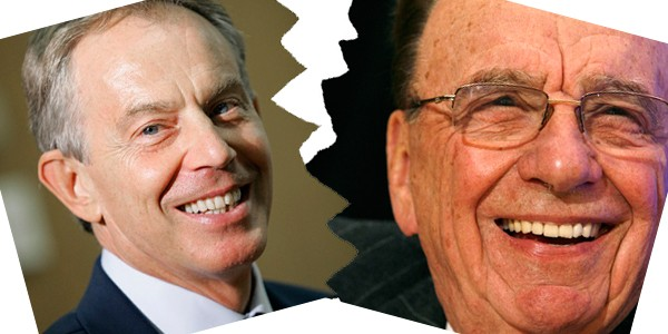 Tony Blair and Rupert Murdoch no longer speak, say reports PIC: Reuters