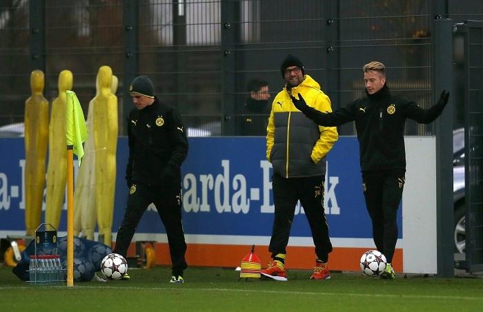 Reus Klop borussia Dortmund