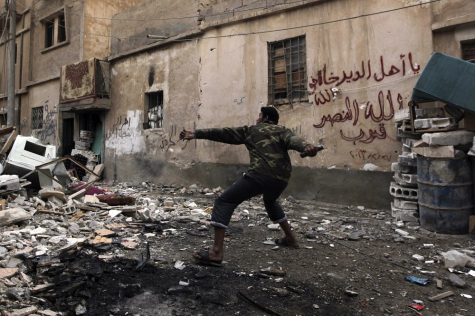 FSA To Continue Fighting During Peace Talks