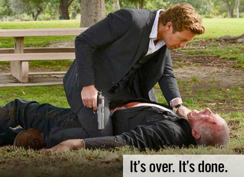 Patrick Jane kills Red John in The Mentalist Season 6