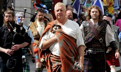 Scottish historian David Ross as