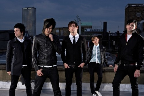 Lostprophets with Ian Watkins second left (Last:fm)