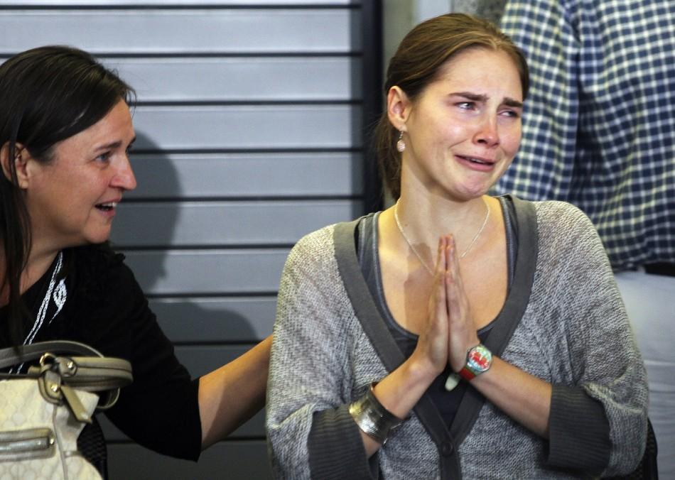 Amanda Knox Photos Crime Scene Amanda Knox Trial: Mer...
