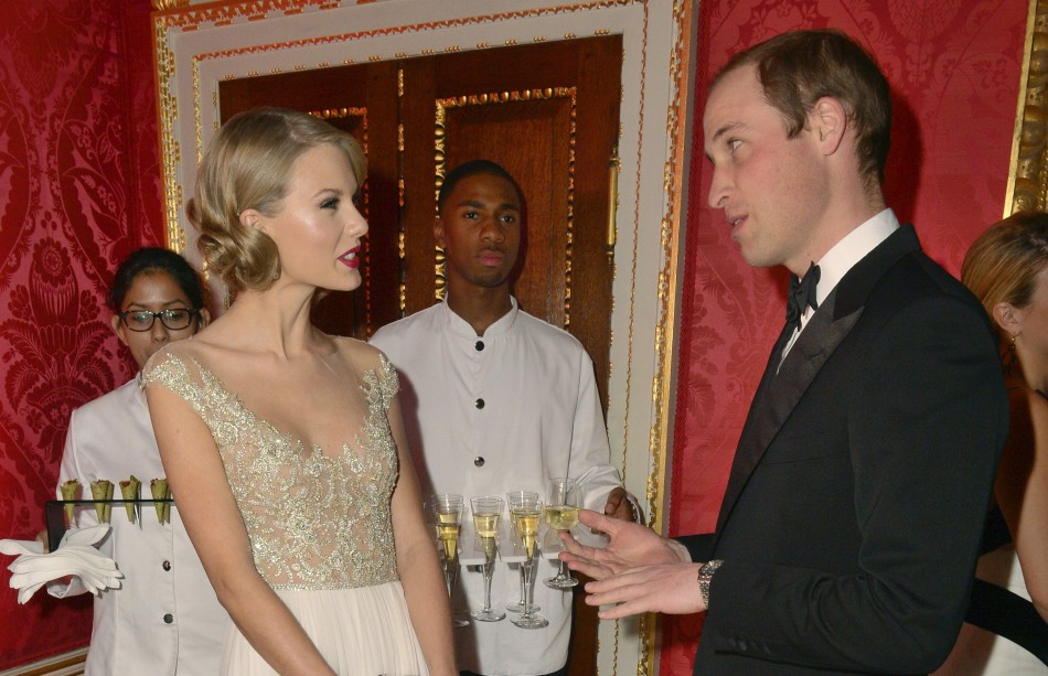 Taylor Swift Meets Prince William
