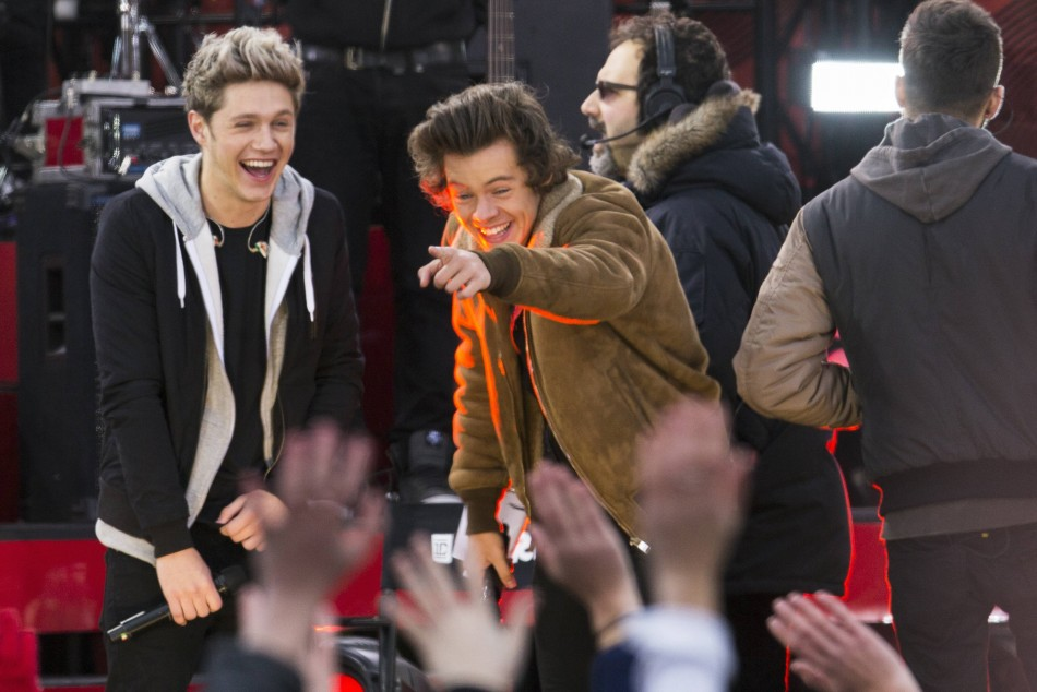 One Direction's Harry Styles and Niall Horan