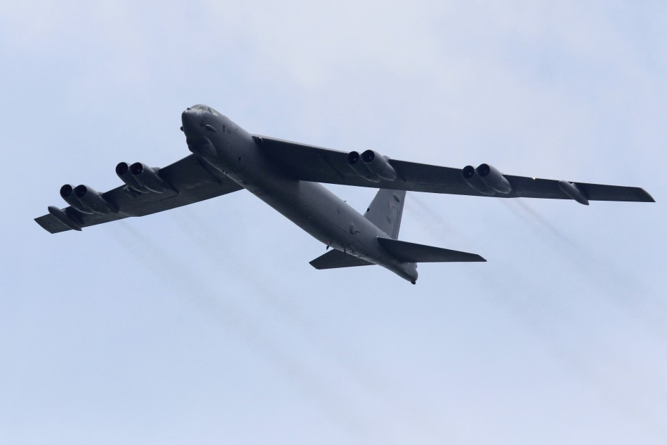 China says it monitored the flight of two US bombers