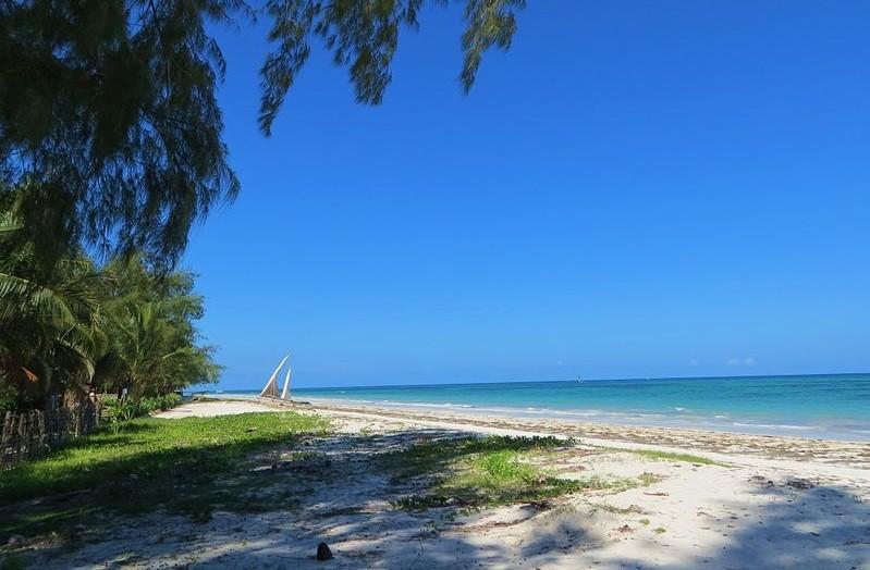 Sun-soaked Diani on the coast of Kenya PIC: Wikicommons