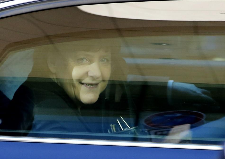 Merkel germany government