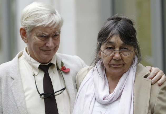 Hazelmary and Peter Bull lose in Supreme Court over discrimination at Chymorvah House PIC: Reuters