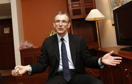 EU Commissioner for Development Andris Piebalgs