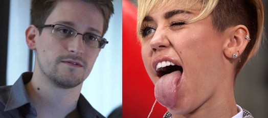 Edward Snowden vs Miley Cyrus: Battle for Time's Person of the Year