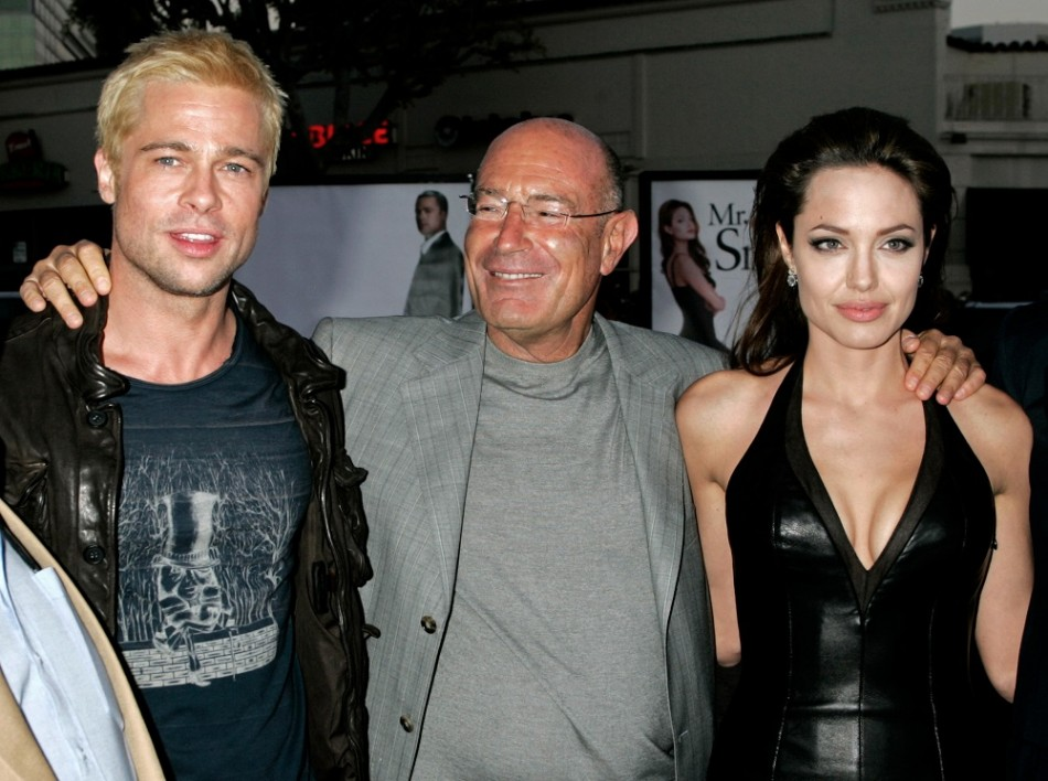 Hollywood Producer Arnon Milchan: I was Israel\'s James Bond Кристина Эпплгейт И Брэд Питт