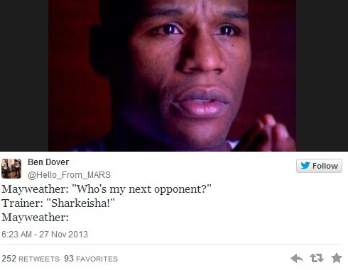 Sharkeisha fight meme