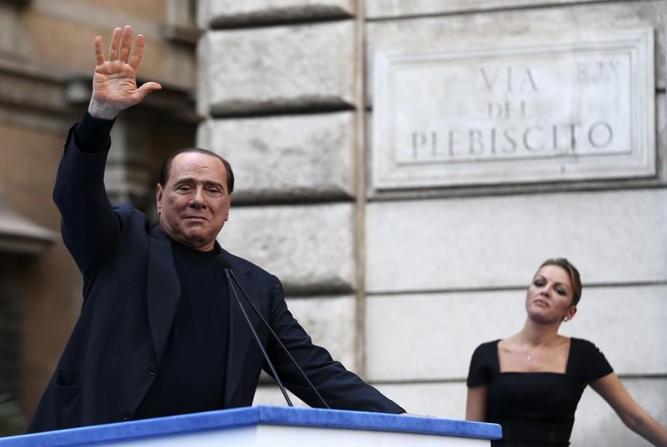 Berlusconi Francesca Pascale pope
